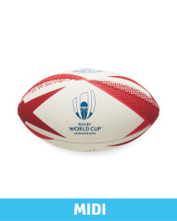 Official Rugby World Cup Midi Ball  - Red
