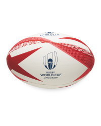 Official Rugby World Cup Rugby Ball - Red