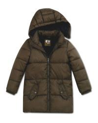 Olive Children's Winter Jacket