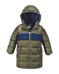 Olive Infants' Winter Jacket