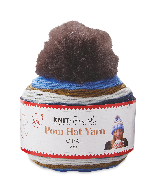 Opal Pom Hat Yarn