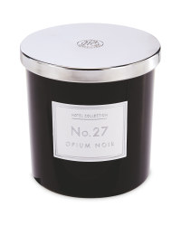 Opium Noir Black Glass Candle