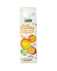 Orange & Mango Fruit Smoothie