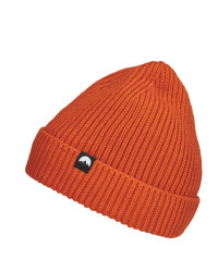 Adult's Orange Fleece Lined Beanie