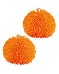 Orange Giant Jiggly Balls 2 Pack