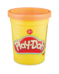 Orange Play-Doh Single Tub