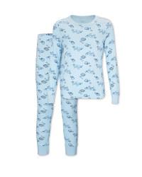 Kids' Organic Blue Planes Pyjamas