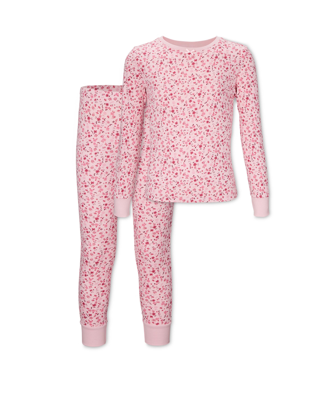 Kids' Organic Rose Flowers Pyjamas