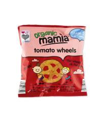 Organic Tomato Wheels Corn Snack