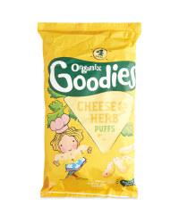 Organix Cheese & Herb Puffs 4 Pack