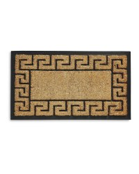 Outdoor Coir Greek Border Mat