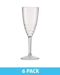 Outdoor Champagne Glass 6 Pack