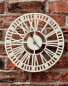 Outdoor Wall Clock - Cream