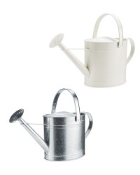 Oval Metal Watering Can 10L
