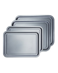 Oven Trays 4 Pack Bundle