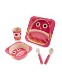 Owl Bamboo Dinner Set