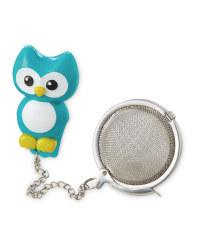 Owl Tea Infuser - Blue
