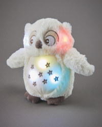 Owl Musical Light Up Plush Toy