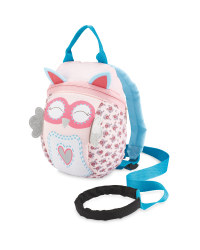 Owl Toddler Reins Backpack