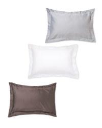 Oxford Sateen Pillowcase Pair