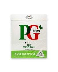 PG Tips Biodegradable Tea Bags 240