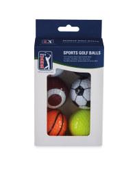 PGA Tour Sports Golf Balls