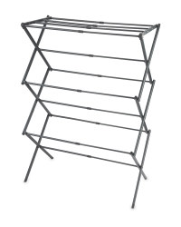 Kirkton House 3-Tier Expanding Airer - Charcoal