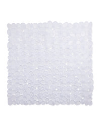 Clear Square Shower Suction Mat