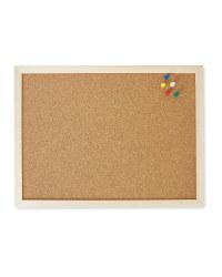 Script A3 Corkboard With Pins