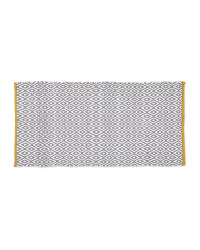 Kirkton House Decorative Rug - Grey and Yellow