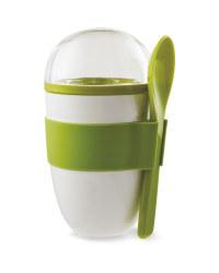 Green Yoghurt To Go