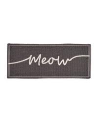 Meow Washable Pet Feeding Mat