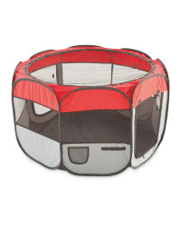 Red & Grey Pop-Up Play Pen