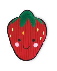 Strawberry Plush Dog Toy