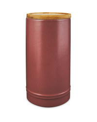 Tall Plum Kitchen Canister