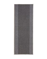 Grey Stripes Washable Runner