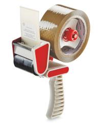 Packing Tape Dispenser - Brown