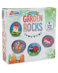 Paint Your Own Garden Rocks
