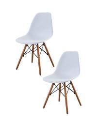 Pair of Eiffel Chairs - White
