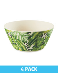 Palm Bamboo Bowls 4 Pack