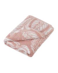 Palm Print Bath Towel