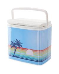 Retro Coolbox Palm Tree