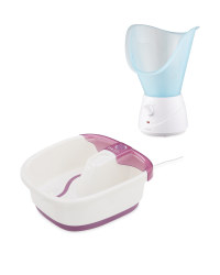 Foot Spa And Face Steamer