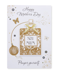 Penny Pot Pamper Yourself Card