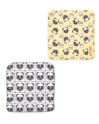 Panda Emoji® Magic Cloth 2-Pack