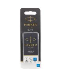 Parker Blue Ink Pen Cartridges