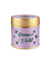 Parma Violet Tin Candle