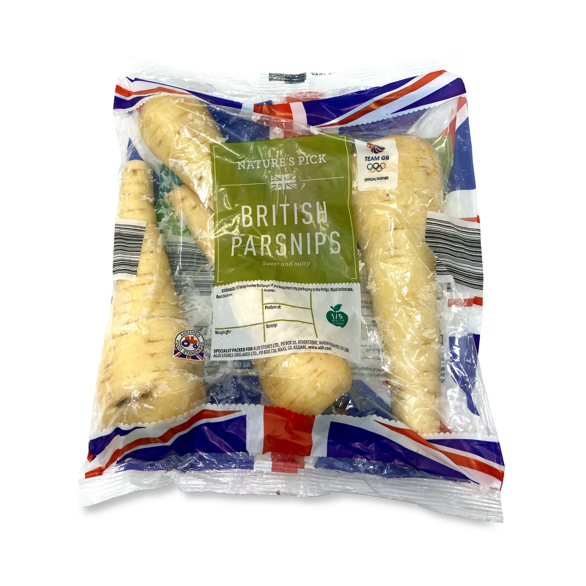 ALDI > Bakery > Nature's Pick Parsnips 500g