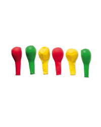 Party Balloons - Red, Yellow & Green