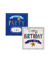 Party Time Birthday Cards